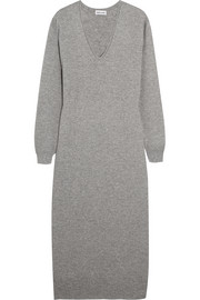 Cashmere midi sweater dress