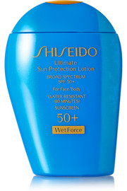 Shiseido Ultimate Sun Protection Lotion SPF50 WetForce, 100ml