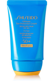 Shiseido Ultimate Sun Protection Cream SPF50 WetForce, 50ml