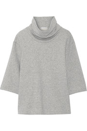 James Perse French cotton-terry sweatshirt