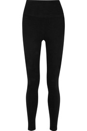 Stretch-fleece leggings