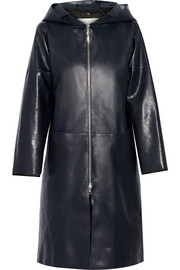 Adam Lippes Hooded leather coat
