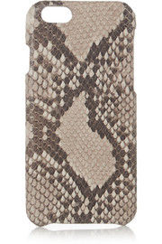 The Case Factory Python-effect leather iPhone 6 case