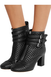 Nash quilted leather ankle boots