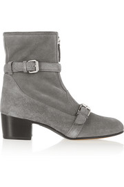 Stirling shearling-lined suede ankle boots