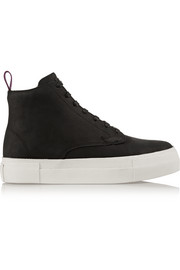 Odyssey nubuck high-top sneakers