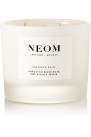 Neom Organics Complete Bliss scented candle, 380g