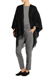 Reversible merino wool wrap