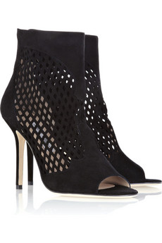 Jimmy Choo | Detroit suede ankle boots | NET-A-PORTER.COM from net-a-porter.com