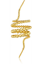 Double Nereus gold-plated bracelet