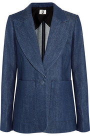 David denim blazer