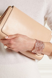 Vintage Lace rose gold-plated cuff