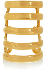 Esteban gold-plated cuff