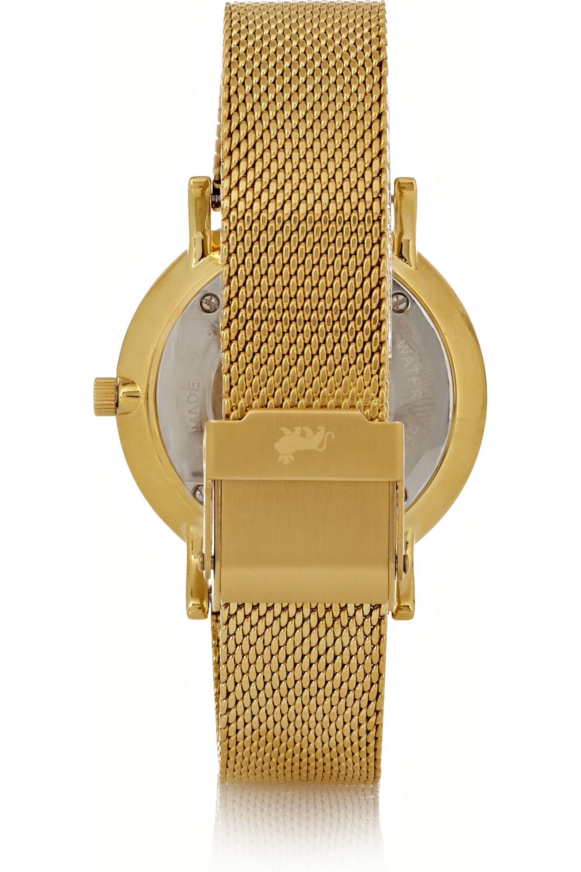 Larsson & Jennings Liten small gold-plated watch