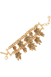 Ivy gold-plated crystal bracelet