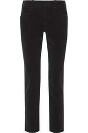 Salute stretch-cotton corduroy straight-leg pants