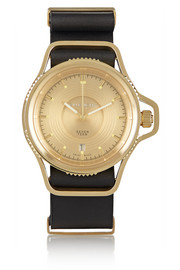 Seventeen watch in gold-plated stainless steel