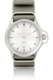 Seventeen convertible stainless steel watch