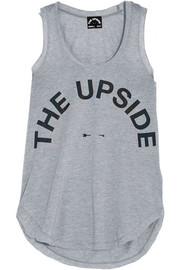 Issy printed jersey tank