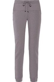 Stretch cotton-terry pajama pants