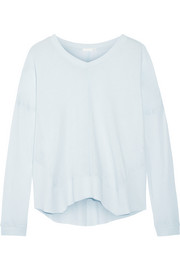 Cotton-jersey pajama top