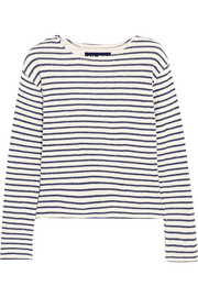 Breton striped knitted top