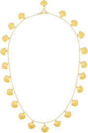 Venus 22-karat gold necklace