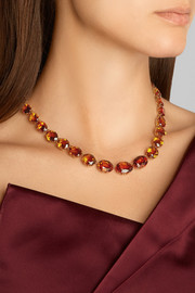 Fred Leighton Collection 18-karat gold citrine necklace
