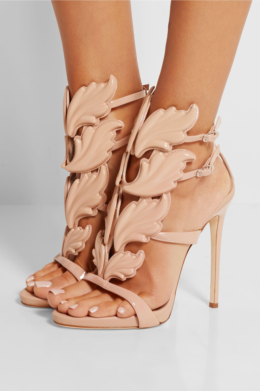 Giuseppe Zanotti Coline patent-leather sandals