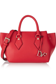 Voyage small leather tote