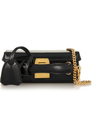 Grace mini leather shoulder bag