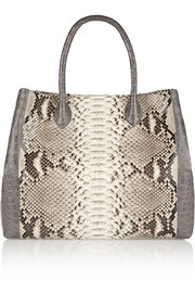 Python and crocodile tote