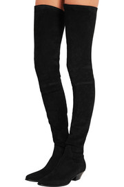 Go West suede thigh boots