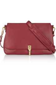 Cynnie mini leather shoulder bag