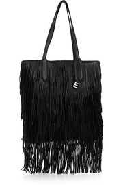 Elizabeth and James Scott fringed leather tote