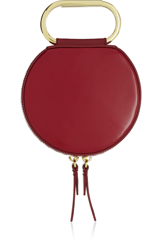 3.1 Phillip Lim Alix Circle leather clutch