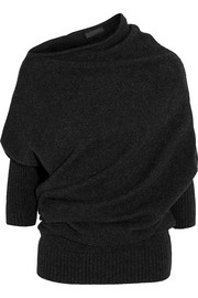 Donna Karan New York Draped cashmere sweater