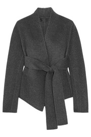 Donna Karan New York Belted cashmere jacket