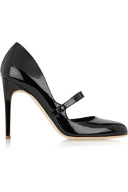 Ellen patent-leather pumps