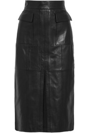 Epifanio leather skirt