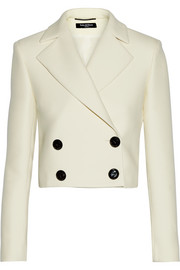 Espartaco cropped wool and cotton-blend jacket