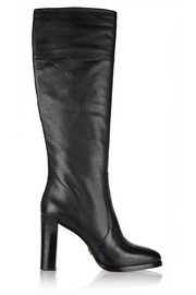 Daryl leather knee boots
