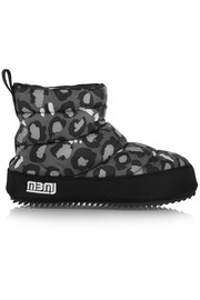 Macdougal animal-print shell boots
