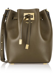 Miranda medium leather bucket bag