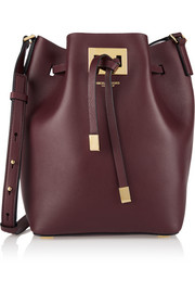 Michael Kors Miranda medium leather bucket bag
