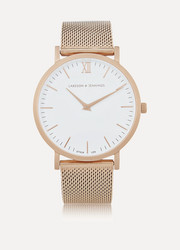 Larsson & Jennings CM rose gold-plated watch