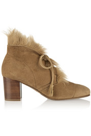 Xadani shearling-lined suede ankle boots
