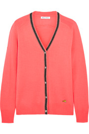 Bella Freud School merino wool cardigan