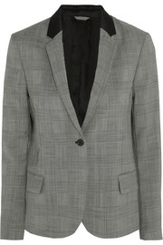 Imola checked wool-blend blazer