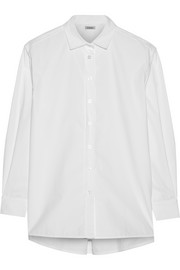 Capri cotton-poplin shirt